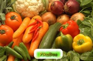 Certains légumes seulement